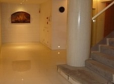 UV cured marble floor