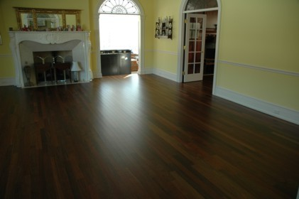 UV Coated Wood Floor